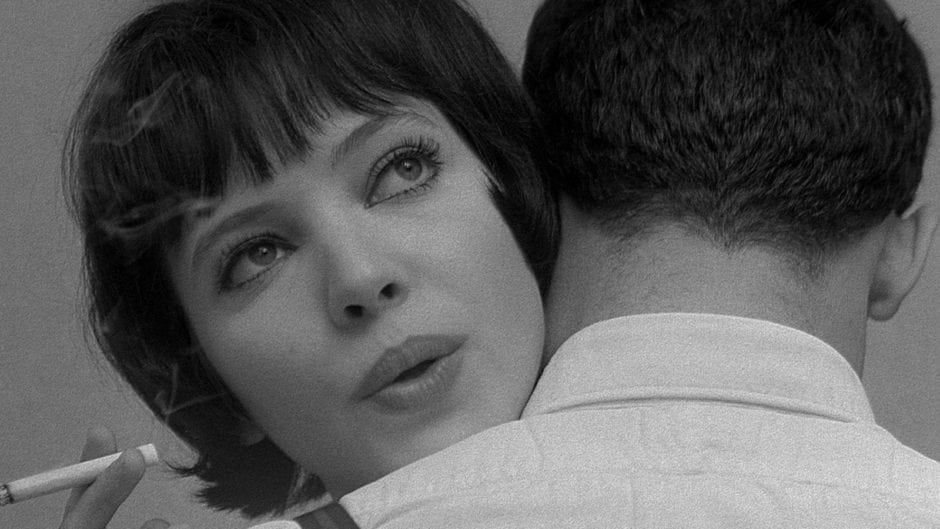 still from Vivre Sa Vie by Jean Luc Godard