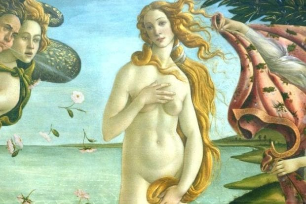 Venus by Botticcelli