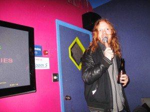 Ben Rayner singing