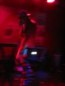 Dev onstage blurry