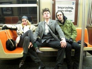 MBV on subway