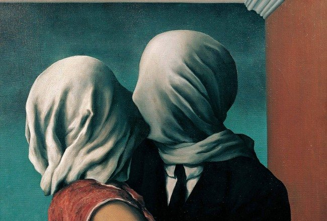 Rene-Magritte-The-Lovers-1928-1