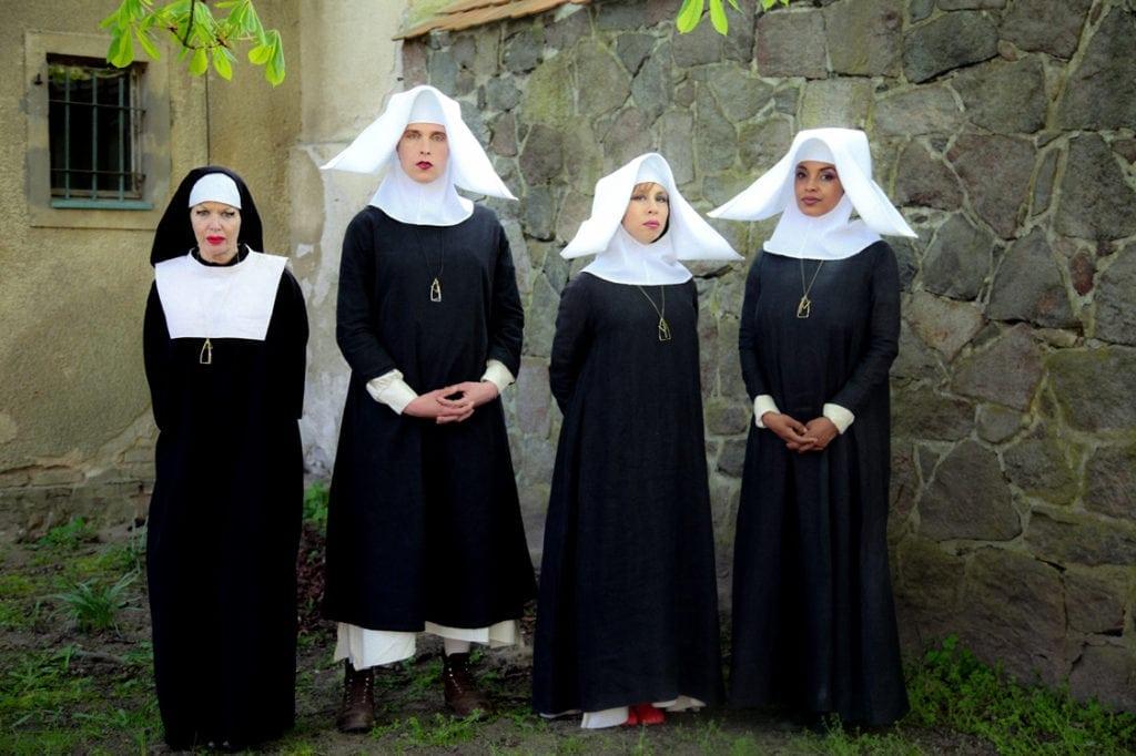 Kembra Pfahler, Grete Gehrke, Viva Ruiz & Caprice Crawford in The Misandrists.