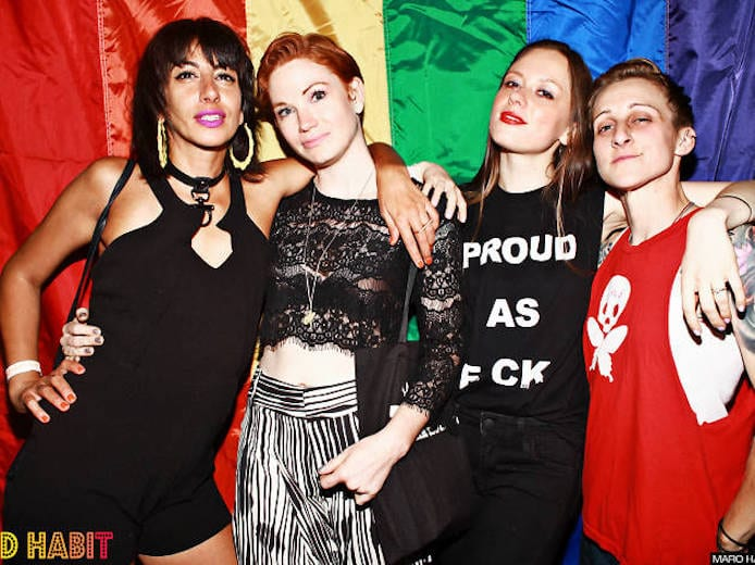 lesbian guide party new york nyc