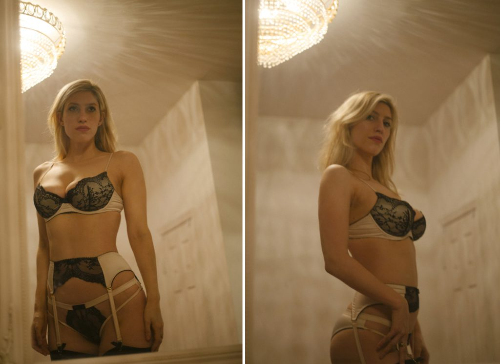 karley sciortino vogue lingerie
