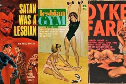 lesbian pulp fiction covers