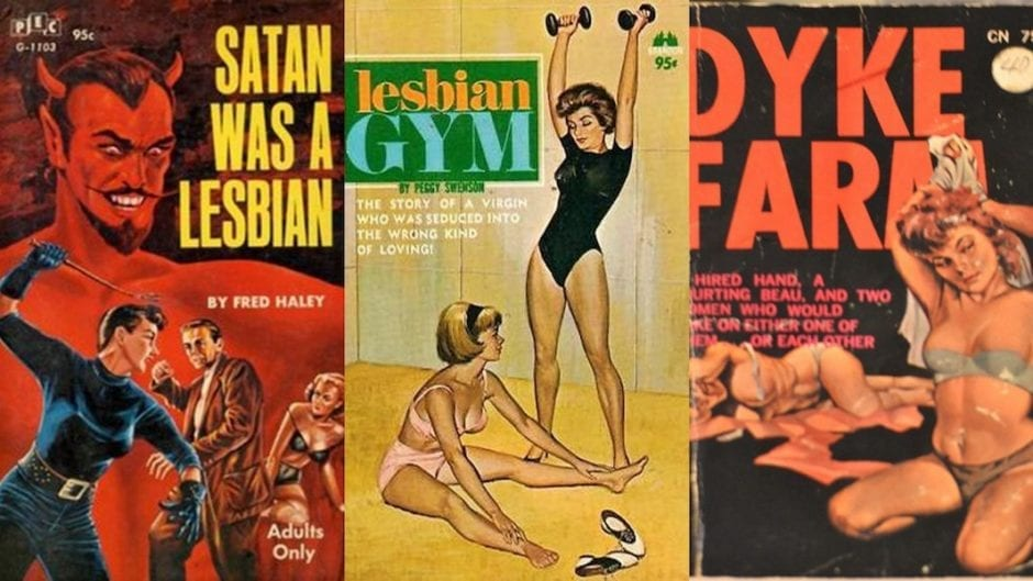 lesbian pulp fiction covers