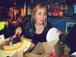 mavi birthday cake