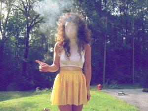 sandy smoke